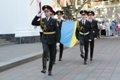 In Odessa celebrated the Day of National Flag. Photo