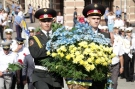 The celebration of Independence Day in Odessa