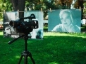 1000 shots from the films produced in Odessa were shown at the City Garden. Photo