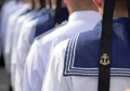 First year students of Odessa Naval Academy were initiated to cadets
