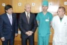 The Mayor of Odessa Gennadiy Trukhanov donated medical equipment to military hospital
