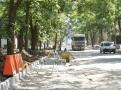 В Одессе обустраиваются тротуары и подходы к морю со стороны Французского бульвара. Фото