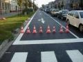 В Одессе нанесена дорожная разметка на ул. Космонавтов