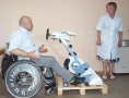 Representatives of Estonia handed rehabilitation equipment to Odessa city hospital. Photo