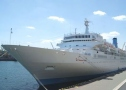 One of the world leading cruise companies' liner visited Odessa. Photo