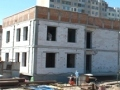 В Одессе продолжается строительство нового детского сада на 110 мест на поселке Котовского. Фото