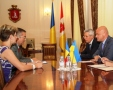 The Mayor of Odessa met with the Consul General of Romania