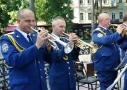 В честь Дня ВВС Украины в ротонде одесского Горсада состоялся концерт. Фото