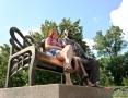 Одесса туристическая. Излюбленные традиции гостей города в фотохронике