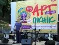 В Одессе открылся Арт-пикник Славы Фроловой. Фоторепортаж