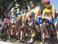 Participants of the first stage of the international cycling race «Odessa Grand Prix» overcome 168 km. Picture story