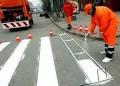 В Одессе за минувшую неделю обновлена дорожная разметка трех улиц и перекрестков