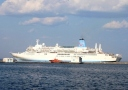 Passenger ship «Thomson Spirit»visited Odessa. Photo