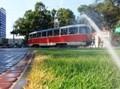 В Одессе завершаются работы по благоустройству кольца трамваев в районе Куликова поля. Фотоотчет