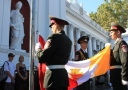 Happy birthday Odessa: the flag of the city was solemnly raised on the Dumska square
