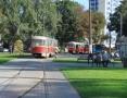 В Одессе ведется благоустройство Итальянского бульвара в районе вокзала. Фоторепортаж
