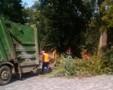 В одесском парке имени Шевченко продолжается сезонная уборка территории