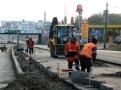 Продолжается расширение дороги по ул. Балковской. Фото