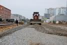 В Одессе продолжается капремонт дороги на поселке Котовского. Фото