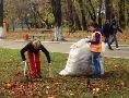 В Одессе продолжаются осенние субботники, в парках и скверах высаживают деревья и кустарники