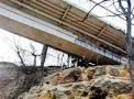 В Одессе продолжаются работы по ремонту опор Тёщиного моста. Фото