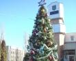 В Суворовском районе Одессы установили главную елку