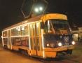 Новогодние трамваи и троллейбусы вышли на маршруты Одессы. Фото