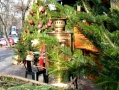 «Folk Christmas tree» was set in the heart of the city. Photo