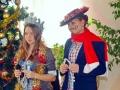 В одесском детском санатории «Ласточка» прошел красочный новогодний праздник