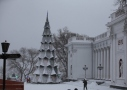 Odessa in snow. Picture story
