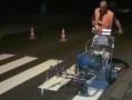 В Одессе продолжается нанесение дорожной разметки и установка дорожных знаков