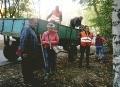 В Суворовском районе Одессы проходят осенние субботники