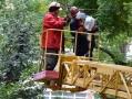С центральных улиц Одессы вывезены упавшие деревья, работы продолжаются в парках и во дворах многоэтажек
