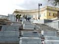Ремонтно-реставрационные работы на Потёмкинской лестнице в Одессе идут по графику