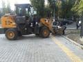 Специальный тротуар для слабовидящих людей обустраивают по ул. Терешковой в Одессе