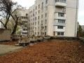 В Приморском районе Одессы продолжается капремонт здания детсада. Фото