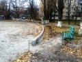 В Одессе ремонтируют школьные стадионы. Фото