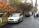 В Малиновском районе Одессы ведут работы по капремонту тротуара улицы Косвенной. Фото