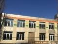 В Приморском районе Одессы продолжается капремонт школы №62. Фото