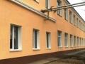 В районе Хаджибейской дороги ведётся капремонт школы №127. Фото