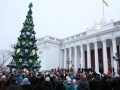 The main Christmas tree of Odessa was festively lighted up on the Dumskaya Square. Picture story