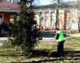 Сегодня во всех районах Одессы проходят субботники. Фото