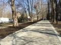 В Одессе ремонтируют тротуар по улице Варненской. Фото