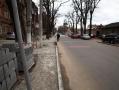 В Малиновском районе Одессы ремонтируют тротуар по ул. Болгарской. Фото