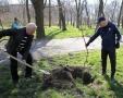 В Одессе проводят субботники