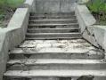В Одессе ремонтируют две лестницы, ведущие к морю. Фото