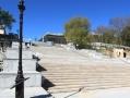 Ремонт Потёмкинской лестницы в Одессе продолжается. Фото