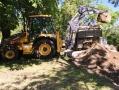 В одесском парке Шевченко ведут работы по строительству подпорной стенки