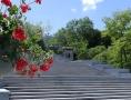 Президент Украины открыл в Одессе Стамбульский парк и отреставрированную Потемкинскую лестницу. 70 фото