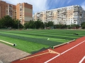 В Суворовском районе Одессы ведётся капремонт школьных стадионов